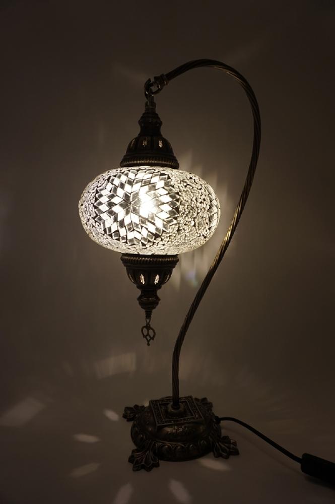 handgemachte mosaiklampen t rkische lampen orientalische lampen mosaiklampe schwanenhals. Black Bedroom Furniture Sets. Home Design Ideas