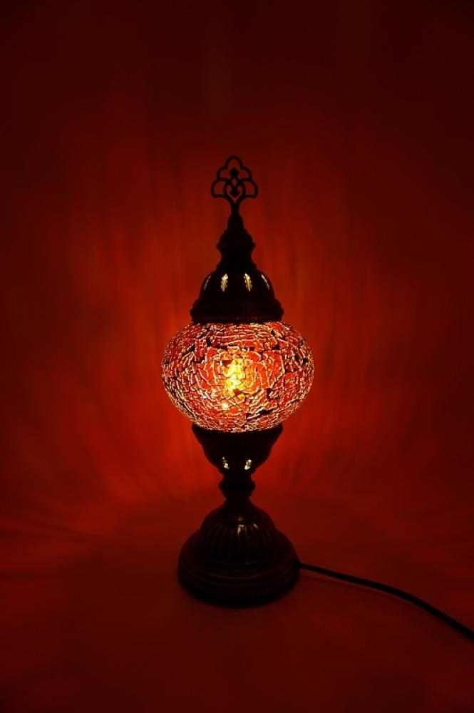 handgemachte mosaiklampen t rkische lampen orientalische lampen mosaik tischlampe rot. Black Bedroom Furniture Sets. Home Design Ideas